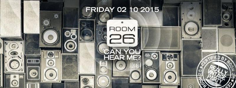 room26 roma venerdi 2 ottobre 2015