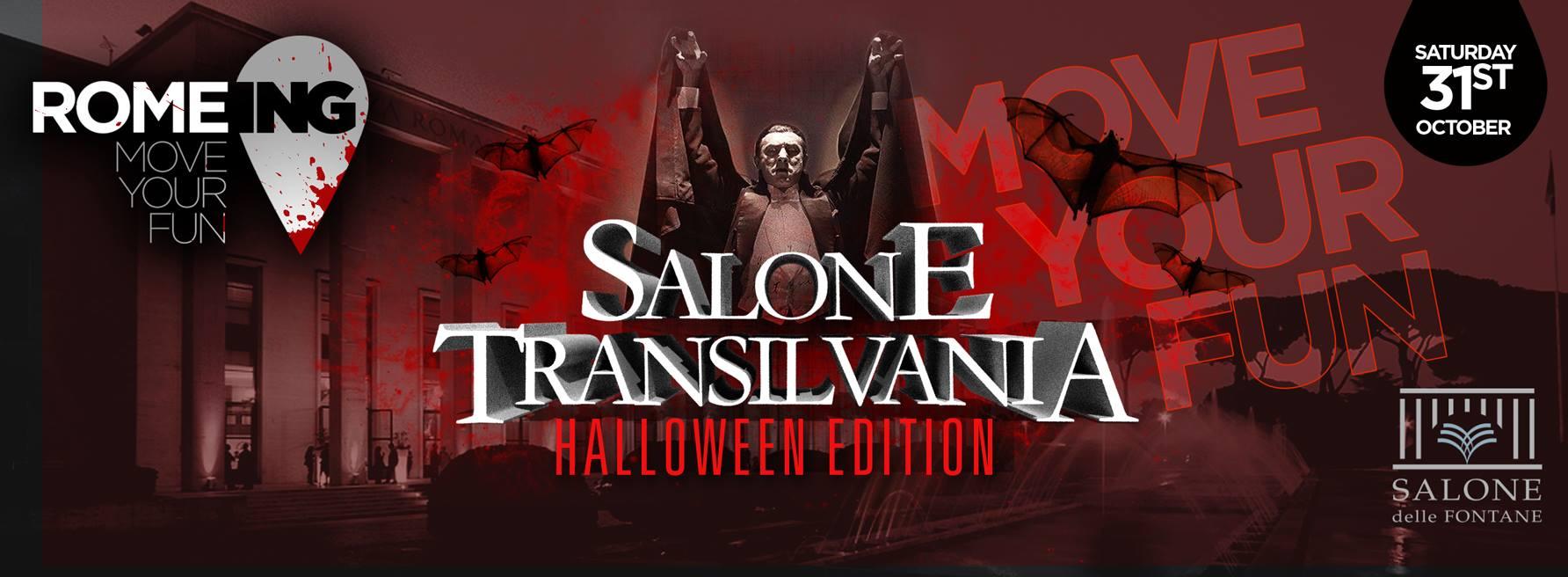 Halloween 2015 Salone delle Fontane sabato 31 ottobre