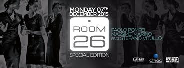 Room 26 Special Edition lunedì 7 Dic 2015 - Lista Globo