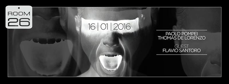 Room 26 Roma Sabato 16.01.2016 House NIght