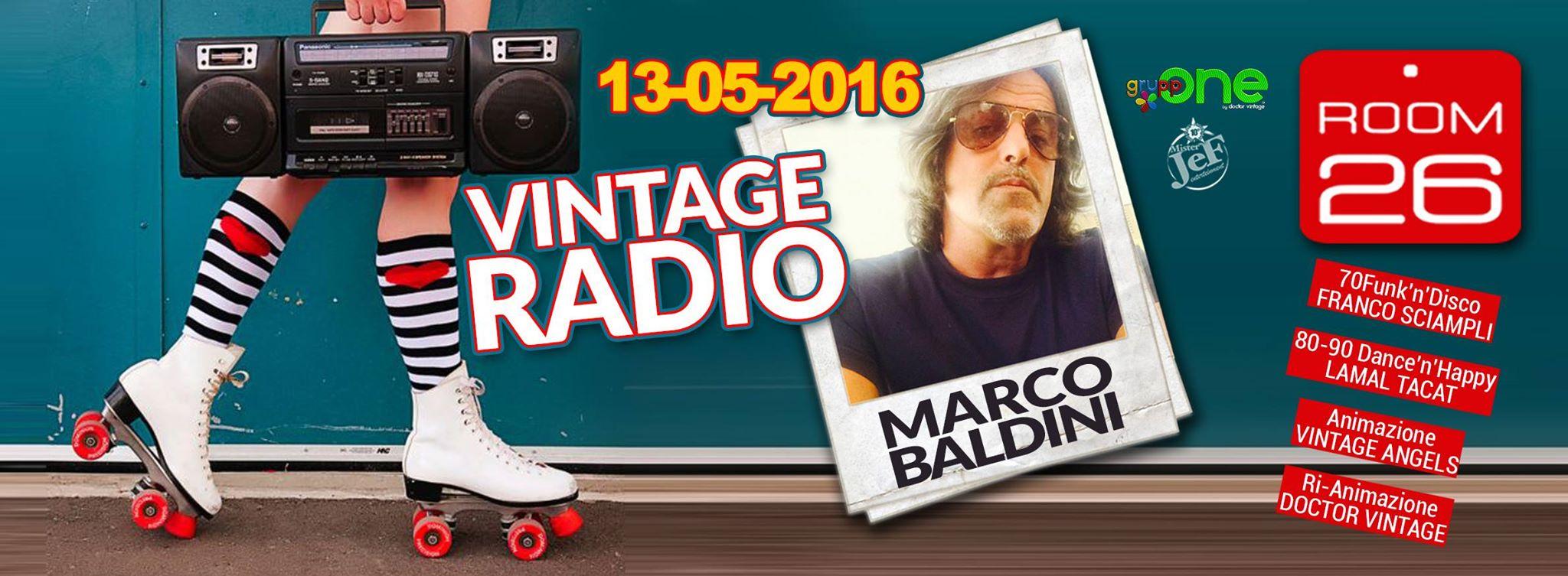 ROOM 26 DISCOTECA ROMA VENERDÌ 11 MARZO 2016 – HERO MARCO BALDINI