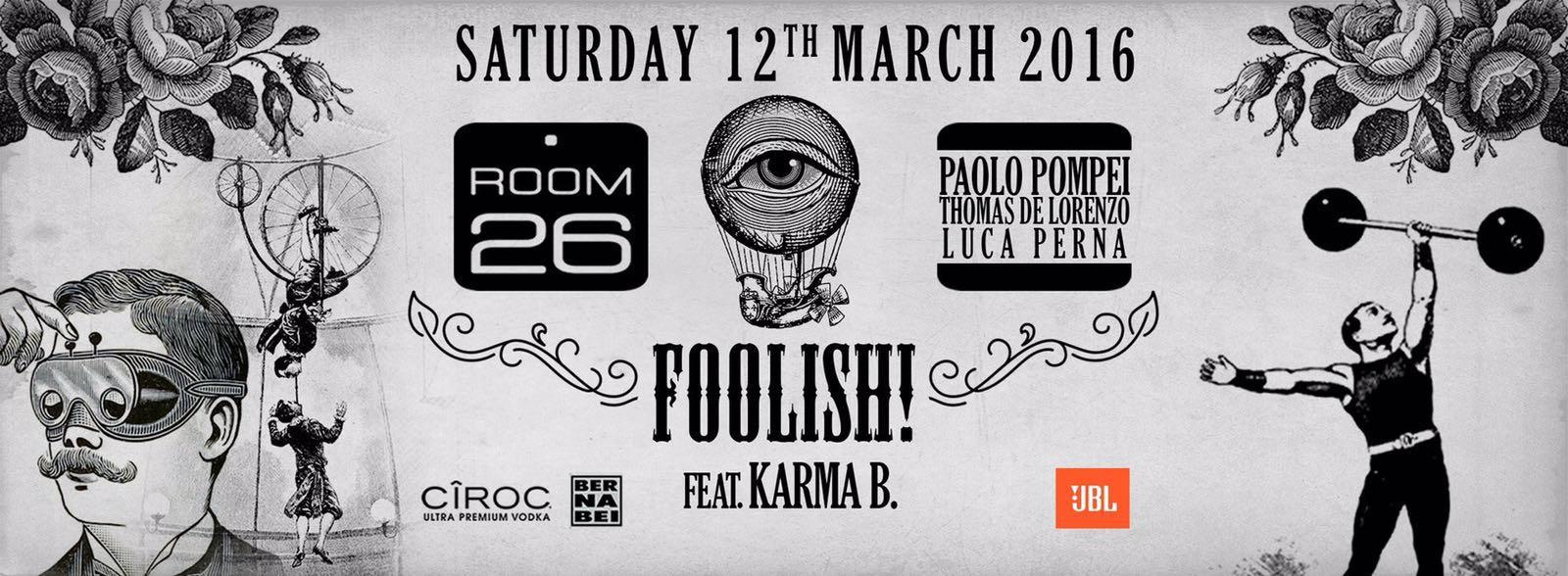 room 26 foolish