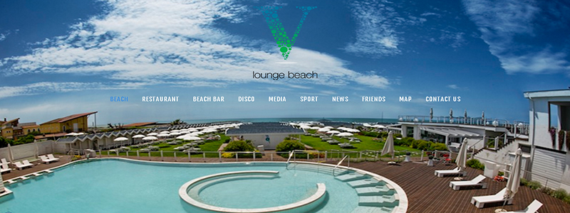 V Lounge Beach 2016