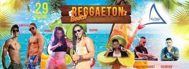 La Vela Fregene beach: festa reggaeton