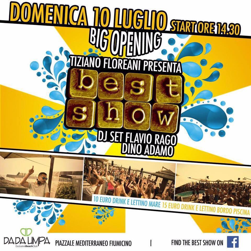 Best Show Dada Umpa domenica 10 luglio 2016