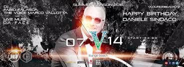 Happy Bday SINDACO 14.07.2016 @ V Lounge Beach