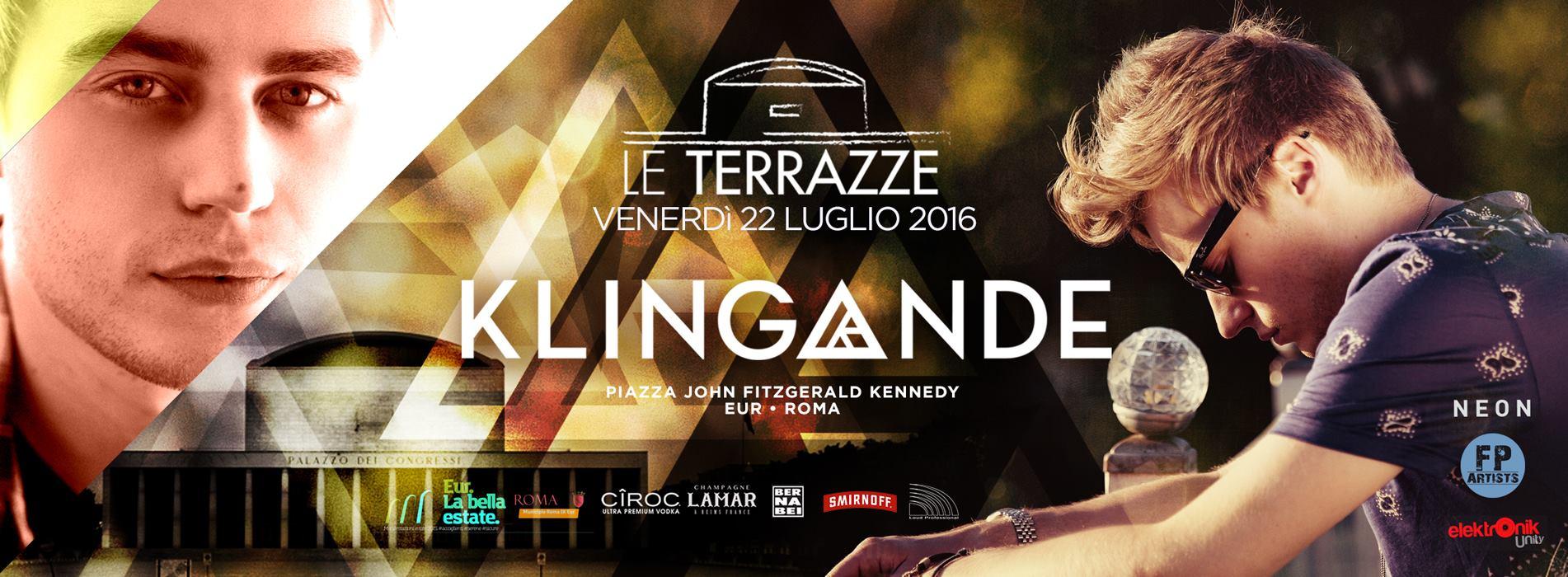 Klingande Le Terrazze Roma 22 07 2016