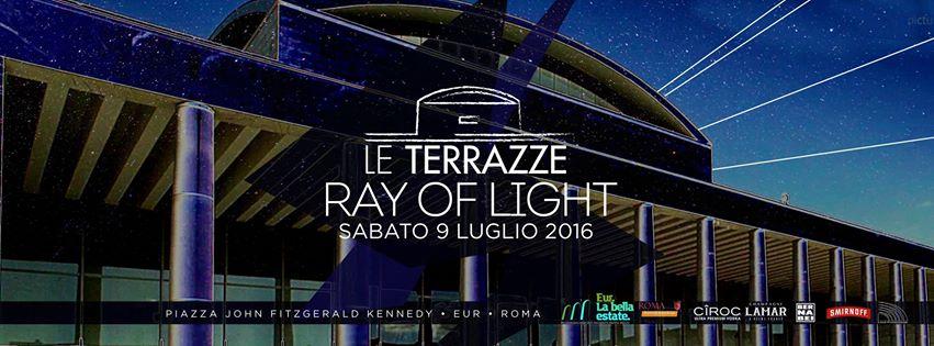 Discoteca Le Terrazze Roma sabato 9 luglio 2016