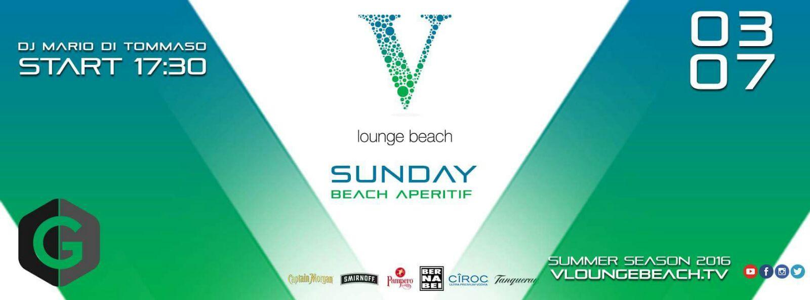 Aperitivo Ostia V Lounge beach