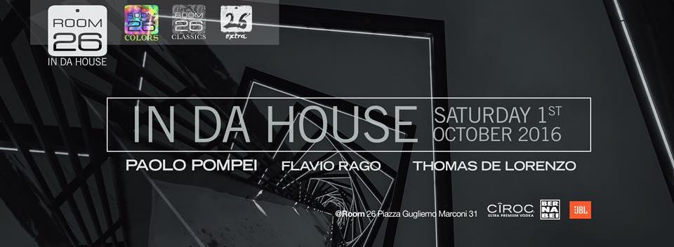 Room 26 Discoteca Room 26 Roma Opening sabato 1 ottobre