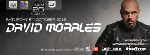 Room 26 sabato 8 ottobre 2016 David Morales Discoteche Roma