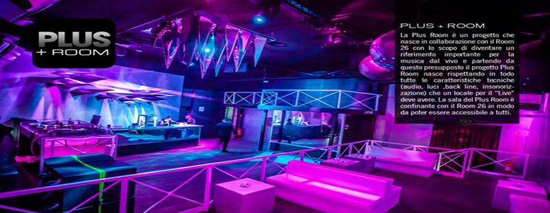 Room 26 Roma venerdì 7 ottobre 2016 Discoteca