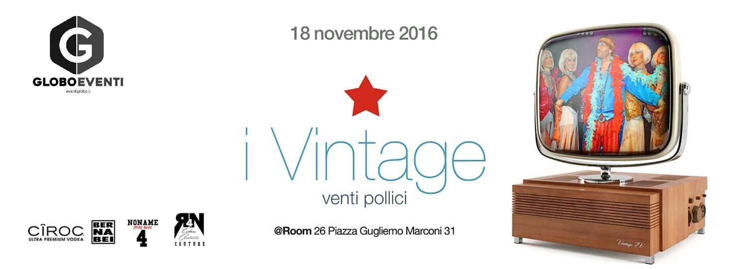 Serata Revival Roma al Room 26 venerdì 18 novembre 2016