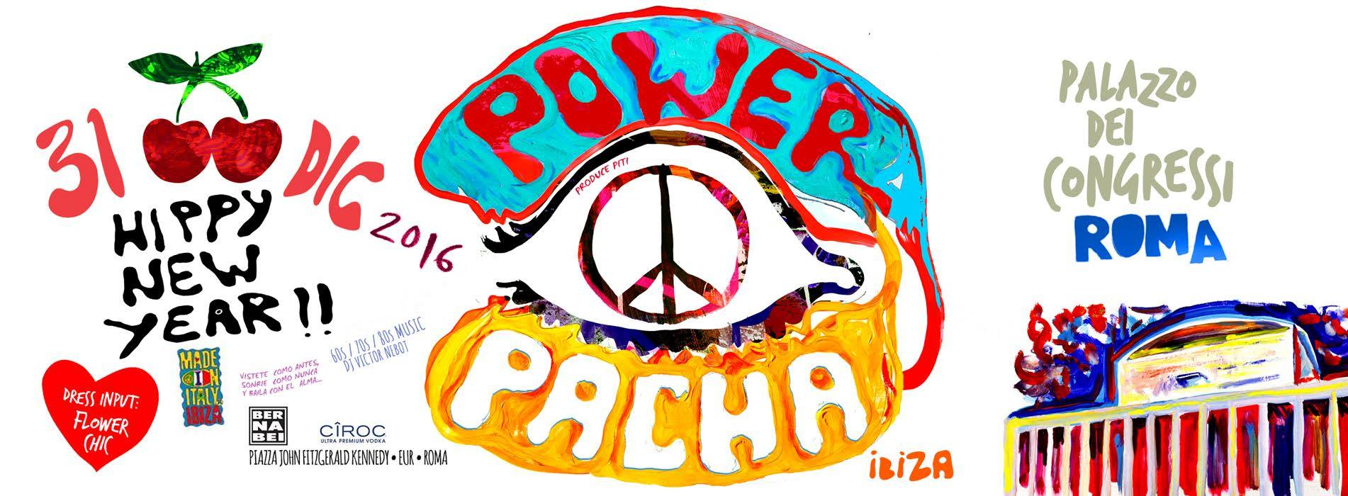 Flower Power Party Pacha