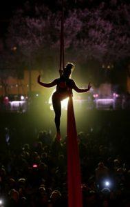 Capodanno al Circo Massimo con il sindaco Virginia Raggi