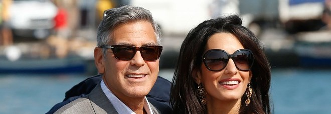 George Clooney sarà papà