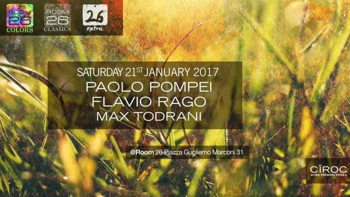 Discoteca Room 26 Roma sabato 21 gennaio: Si balla house e commerciale