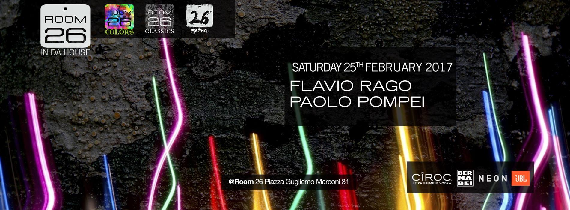 Discoteche Roma sabato 25 febbraio 2017 Room 26 lista e privè