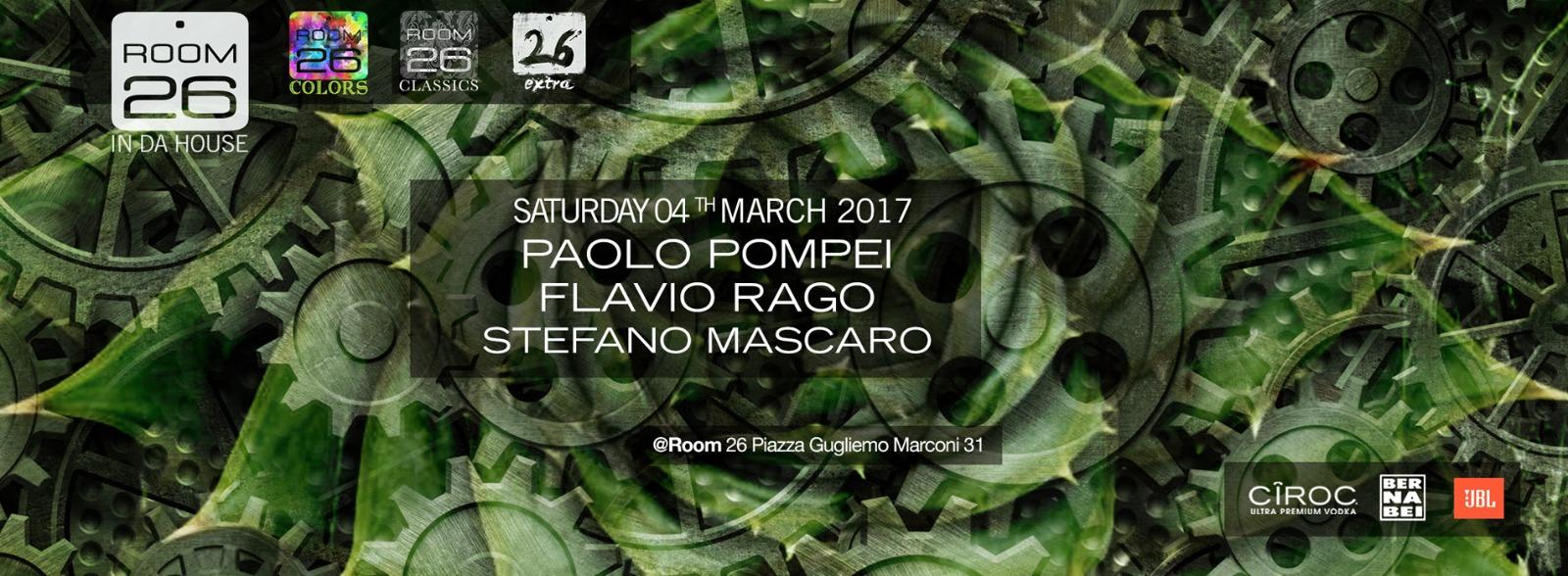 Sabato 4 Marzo 2017 Room 26 lista e privè discoteche Roma