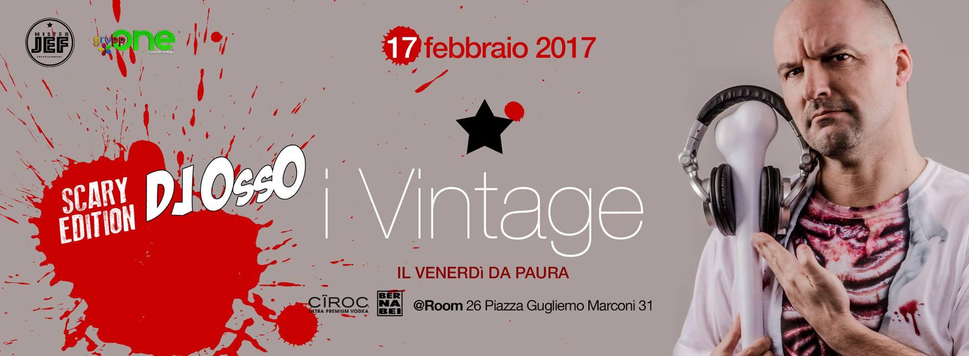 Room 26 venerdì 17 febbraio 2017 Dj Osso musica 70 80 90 Discoteche Roma