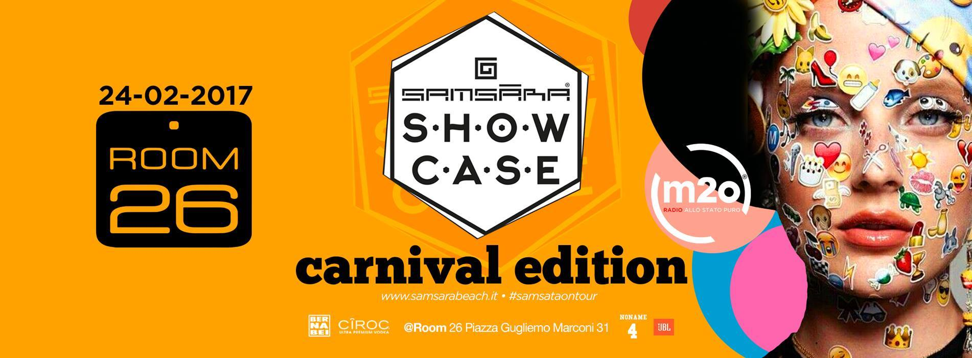 Samsara carnival edition Room 26 venerdì 24 febbraio discoteche Roma