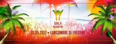 Baila Reggaeton primo maggio 2017 on the beach Fregene