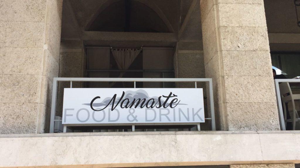 Namastè aperitivo Roma Eur inaugurazione 2017