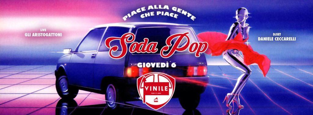 Vinile aperitivo cena disco Roma giovedi 6 aprile 2017