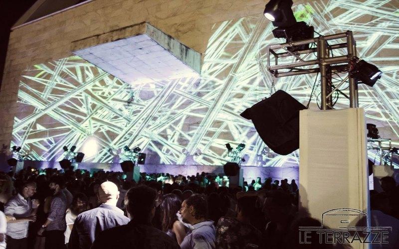 Le Terrazze discoteca Roma inaugurazione estate 2017