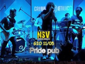 Pride pub Roma giovedi 11 maggio 2017 Non solo Vasco