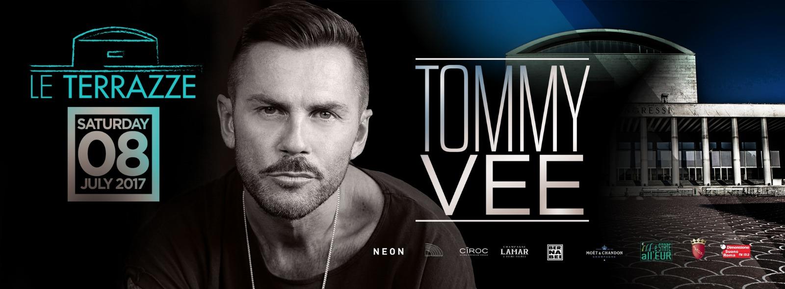 Tommy Vee Le Terrazze sabato 8 luglio 2017 lista e privè 3404987255