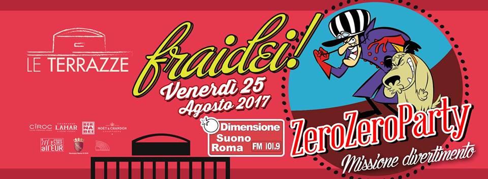 Le Terrazze venerdi 25 agosto 2017 ZeroeroParty
