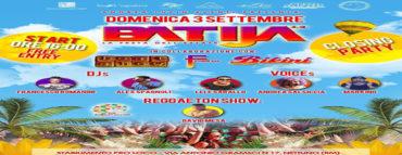 Reggaeton party domenica 3 settembre 2017 Batija Nettuno