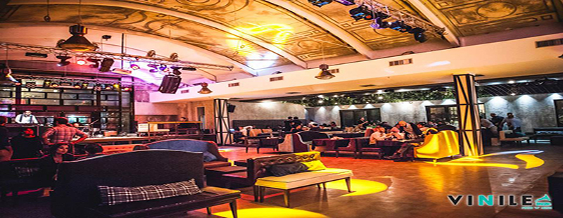 Vinile Roma venerdi 6 ottobre 2017 Cena servita aperitivo discoteca