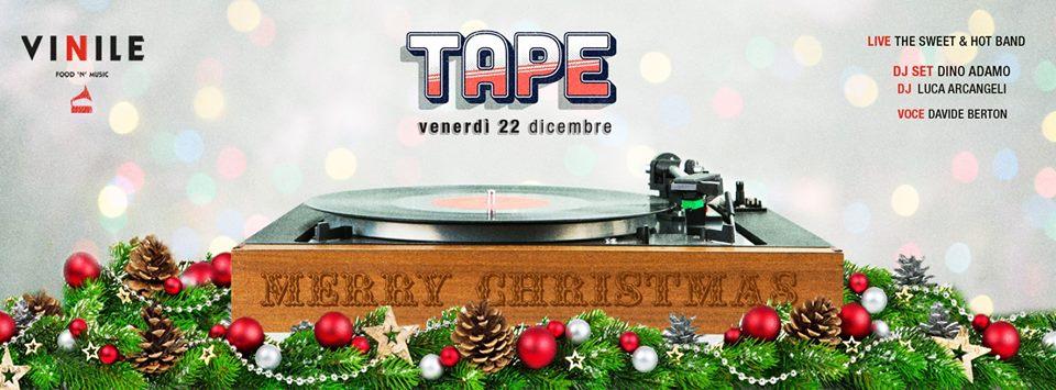 Vinile Roma 22 dicembre 2017 Venerdi apericena disco Lista Globo