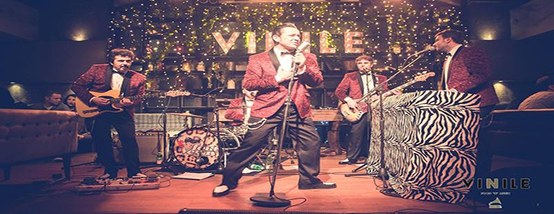 Aperitivo Roma giovedi 25 gennaio 2018 Vinile Live Four Vegas