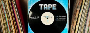 Vinile Roma venerdi 19 gennaio 2018 Ape Cena Disco