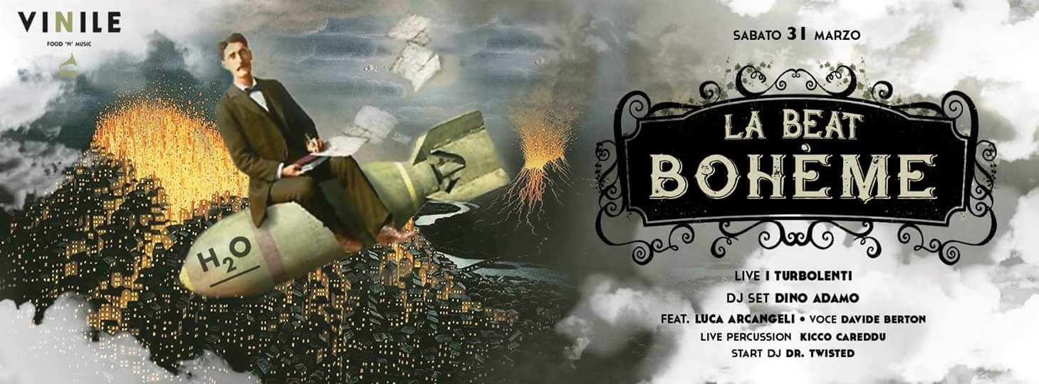 La Beat Bohème Vinile Roma sabato 31 marzo 2018