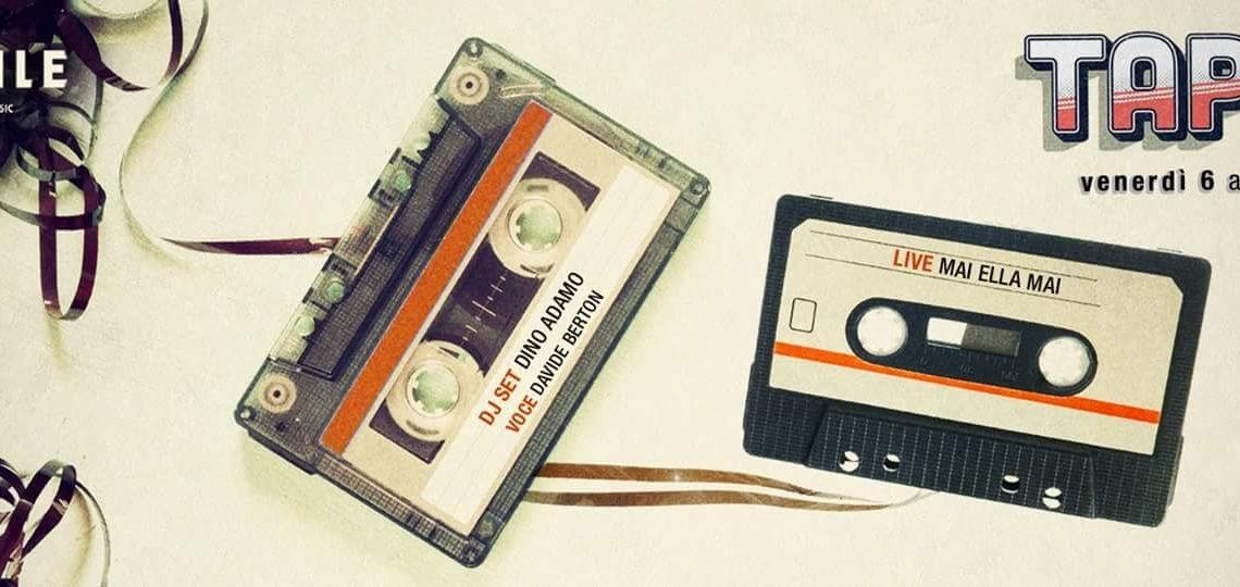 Serata anni 90 al Vinile Roma: Aperitivo cena disco Tape90