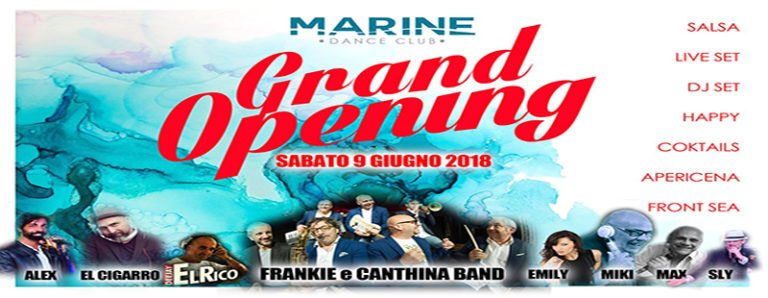 Discoteca Aperitivo Marine Village Ostia sabato 9 giugno 2018