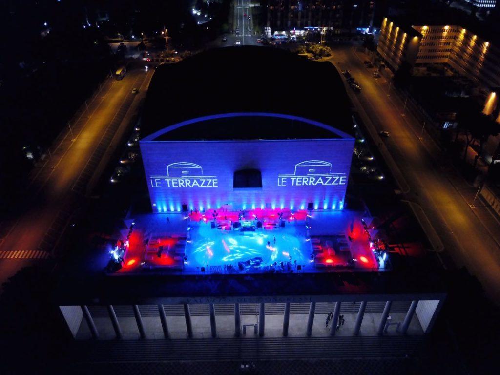 Discoteca Le Terrazze Roma inaugurazione estate 2018