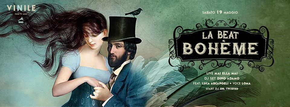 La Beat Boheme Vinile sabato 19 maggio 2018 Discoteche Roma