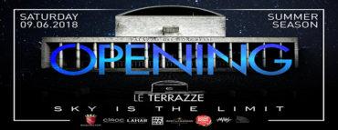 Le Terrazze sabato 9 giugno 2018 - Inaugurazione | Discoteche Roma lista Globo