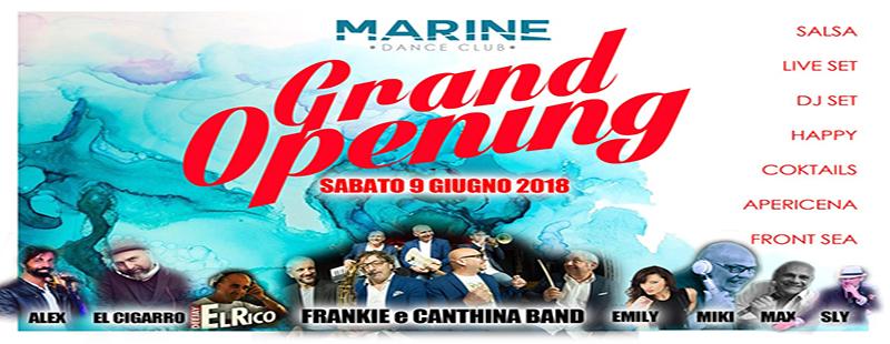 Marine Village Ostia sabato 9 giugno 2018 aperitivo discoteca