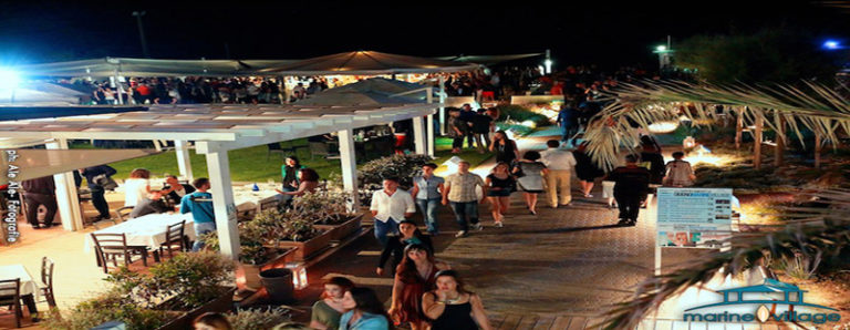 Aperitivo Disco Marine Village Ostia sabato 23 giugno