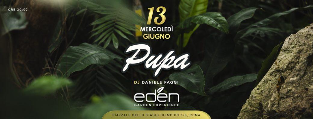 Eden Roma aperitivo discoteca stadio Olimpico mercoledì 13 giugno 2018