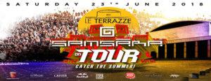 Le Terrazze Samsara tour sabato 23 giugno 2018
