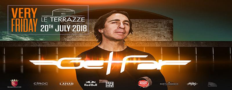 Fargetta Le Terrazze discoteca Roma Venerdì 20 luglio 2018