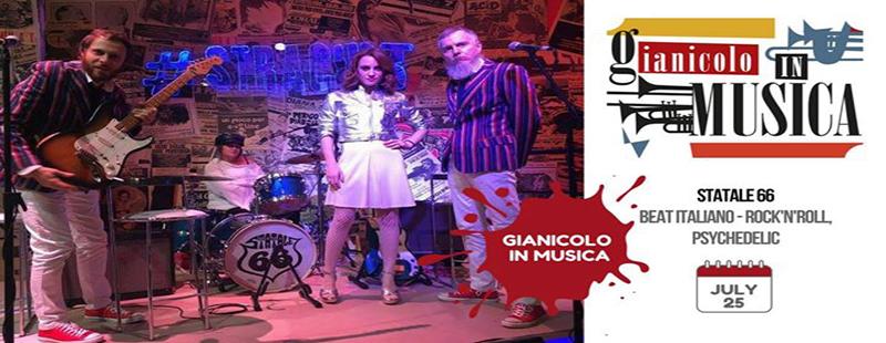 Gianicolo in musica   Terrazza Gianicolo aperitivo mercoledi 25 luglio 2018