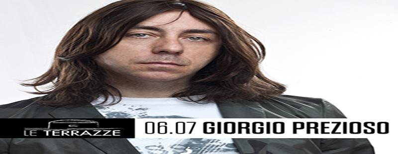 Giorgio Prezioso Le Terrazze venerdi 6 luglio 2018